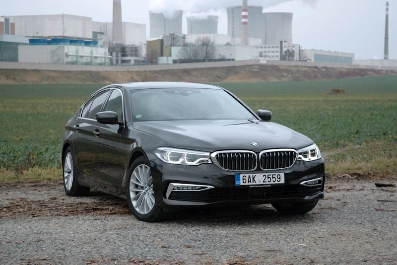 BMW 530e iPerformance u JE Dukovany
