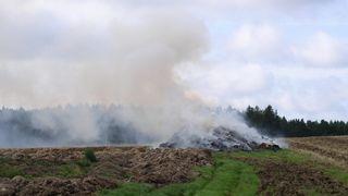 Kvůli suchu je zákaz rozdělávat ohně