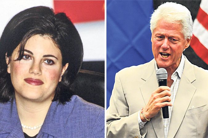 Monica Lewinská a Bill Clinton