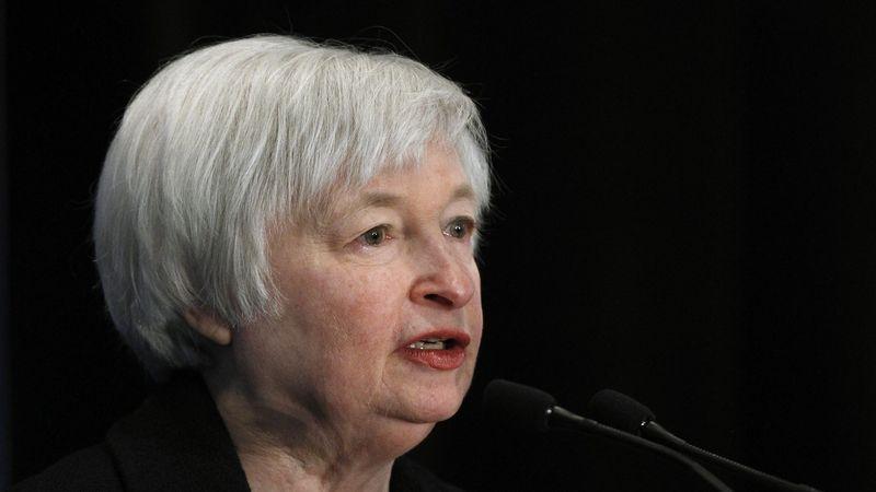 Americkou ministryní financí byla potvrzena Yellenová