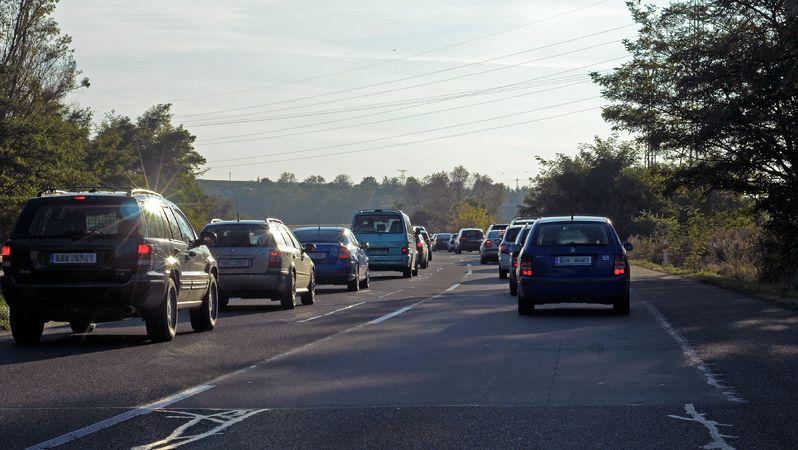 Dálnici D1 ve směru na Brno uzavřela nehoda dodávky