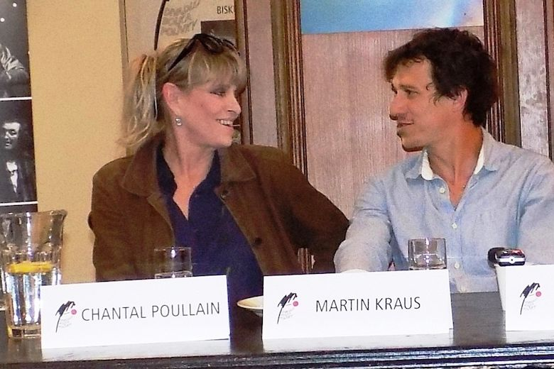 Chantal Poullain a Martin Kraus