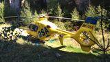 VPrachovských skalách se zřítil horolezec, letěl pro něj vrtulník