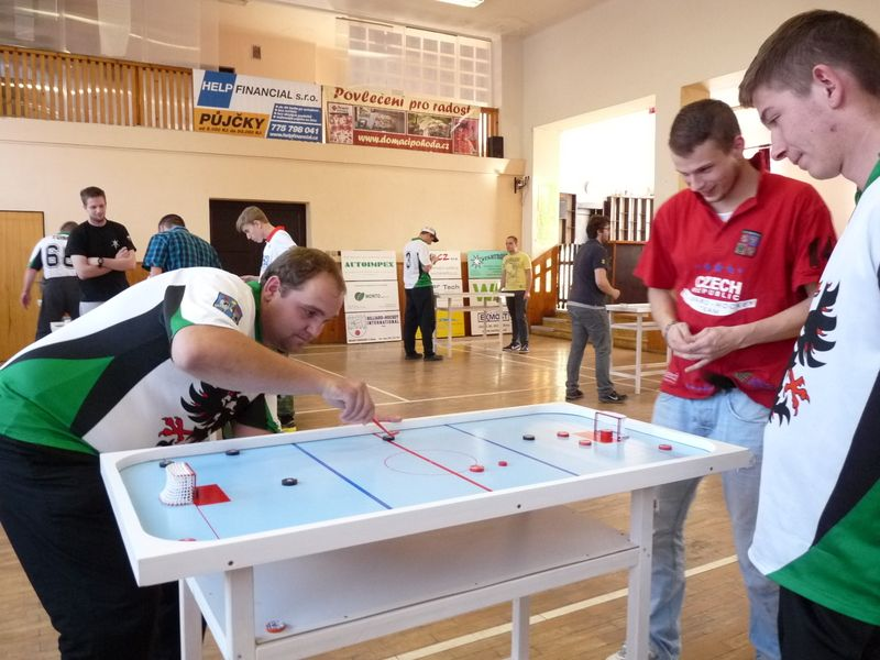 Pohár Sokola Stochov – billiard-hockey šprtec
