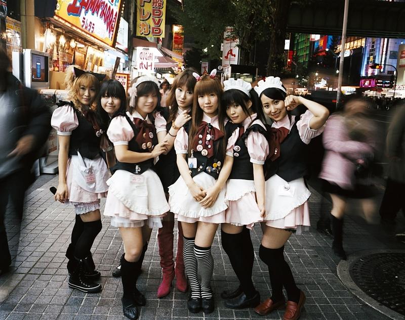 Japonský cosplay dívčí sex