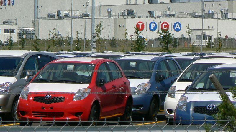 Kolínská Toyota zastaví na dva týdny výrobu