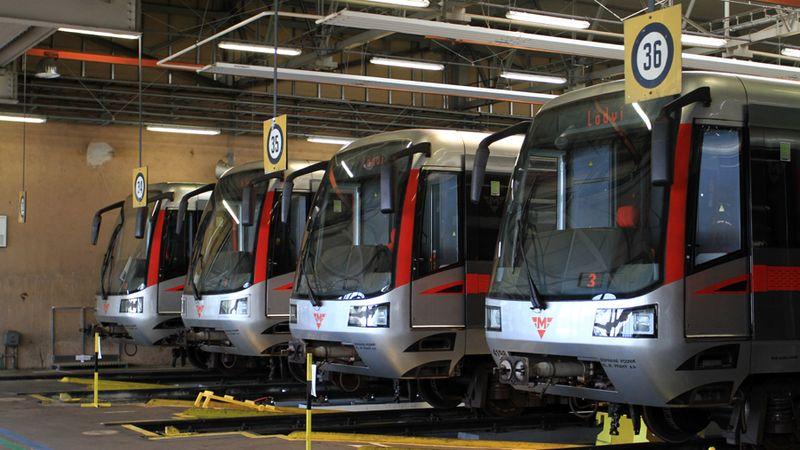 Týdenní výluka přeruší provoz na části trasy metra C