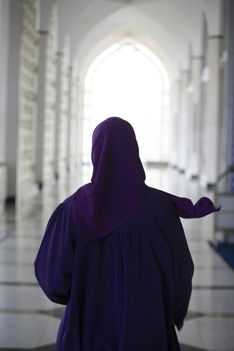 Randí s muslimskou dívkou