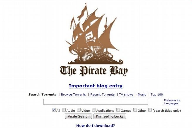 Montt Mardié - We're All The Pirate Bay