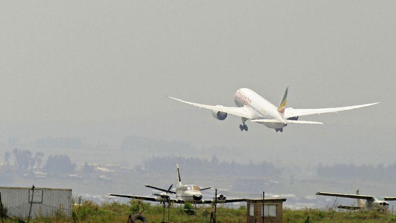 Etiopské letadlo omylem přistálo na nedostavěném letišti v Zambii