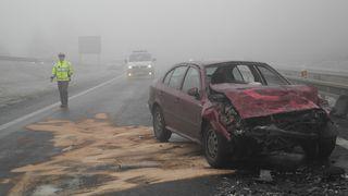 Meteorologové varovali před námrazou a mrznoucími mlhami