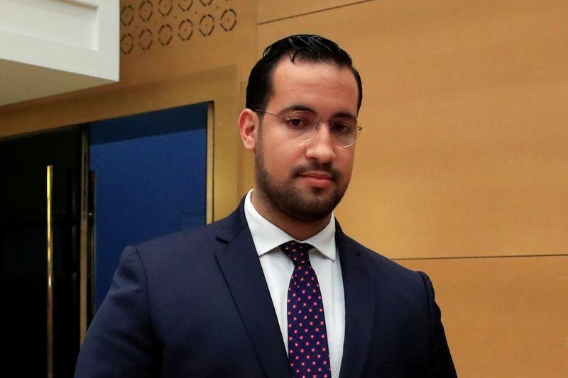 Alexandre Benalla, bývalý blízký spolupracovník francouzského prezidenta Emmanuela Macrona