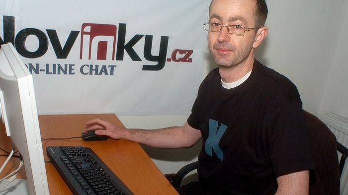 Petr Zelenka na on-line chatu