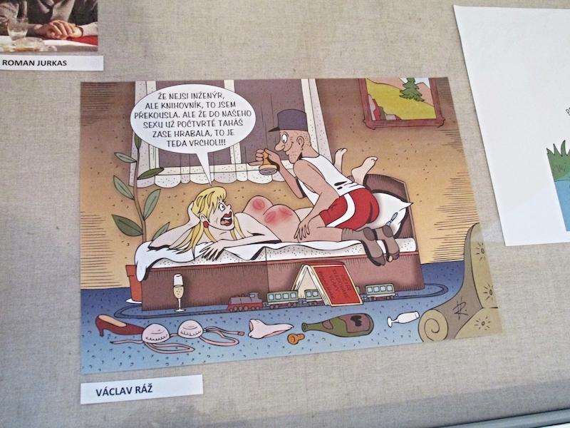 sexuální vtipy a karikatury dobře zavěsil tumblr