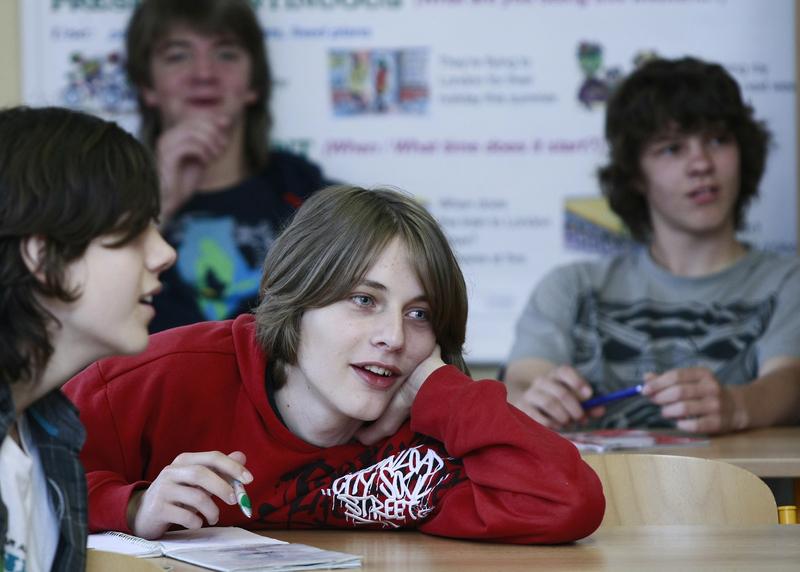 Galerie mladých dospívajících