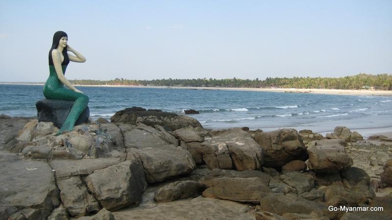 Randění dívka v cochin