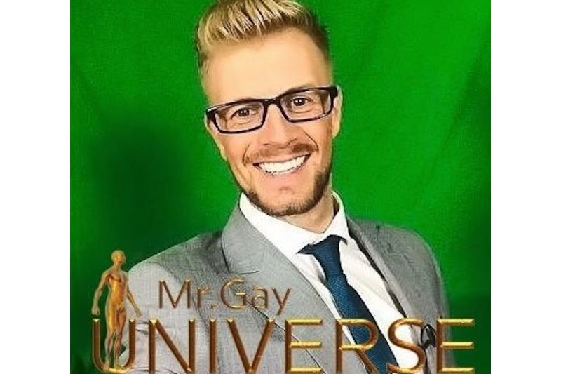 Mr. Gay Universe 2016 Paul Davies