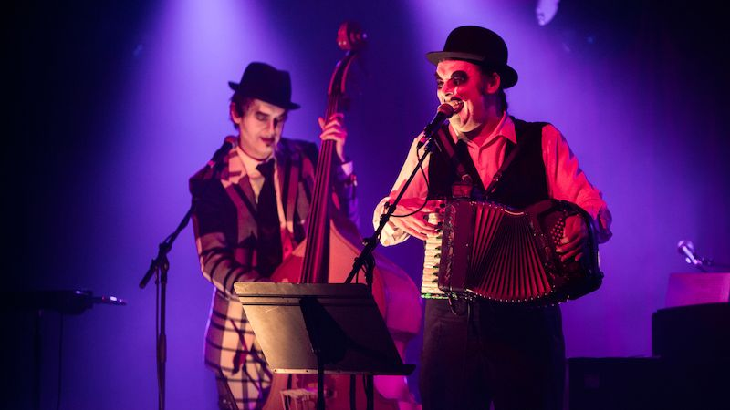 The Tiger Lillies na koncertě