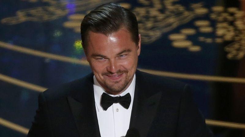 DiCaprio vychválil Gretu jako vůdkyni naší doby