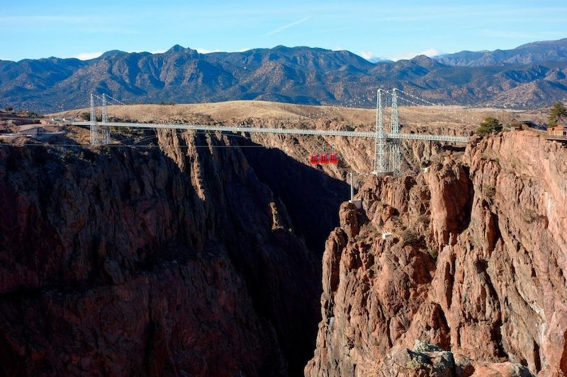 Royal Gorge Bridge v Coloradu