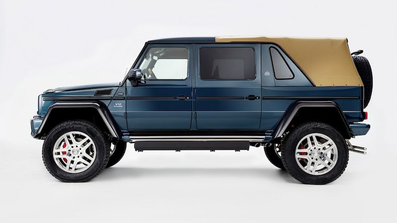 Mercedes-Maybach G650 Landaulet (2017)
