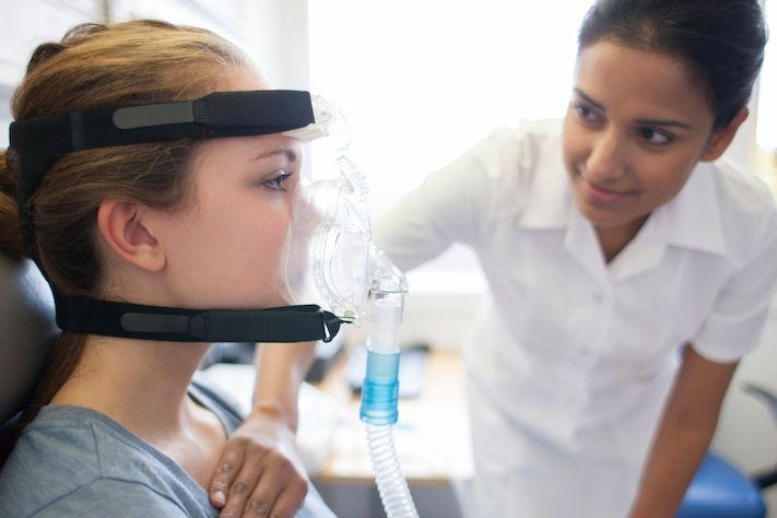 Pacientka s cystickou fibrózou (ilustrační foto)