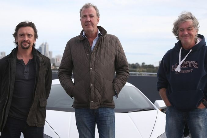 Richard Hammond, Jeremy Clarkson a James May
