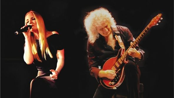 Brian May a Kerry Ellisová
