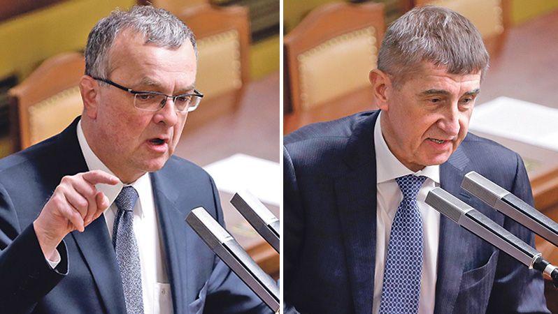 """Kauza výroku """"zabil lidi cez padáky"""": Soud se vrátil ke Kalouskově žalobě na Babiše"""