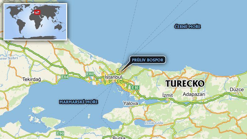 Istanbul postihlo zemětřesení o síle 5,8 stupně