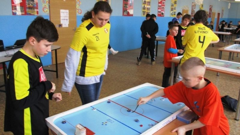 Liga škol – billiard-hockey šprtec