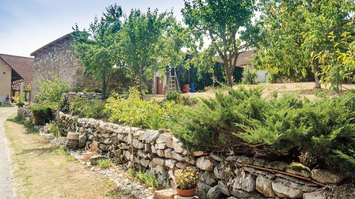 Z běžné zahrady vznikla líbezná končina nejen s vůní máty