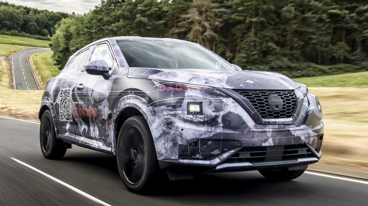 Nissan Juke poprvé na oficiálních fotkách, nová generace vsadí na podobné tvary