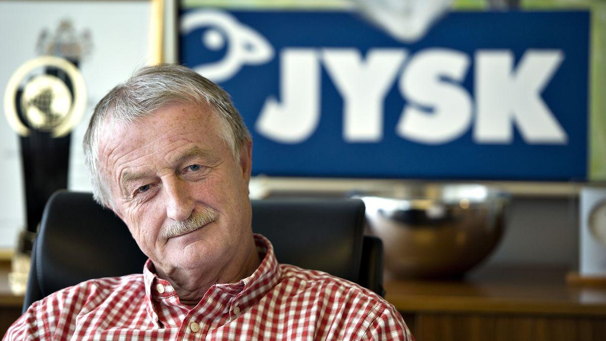 Ve věku 71 let zemřel zakladatel dánského řetězce Jysk