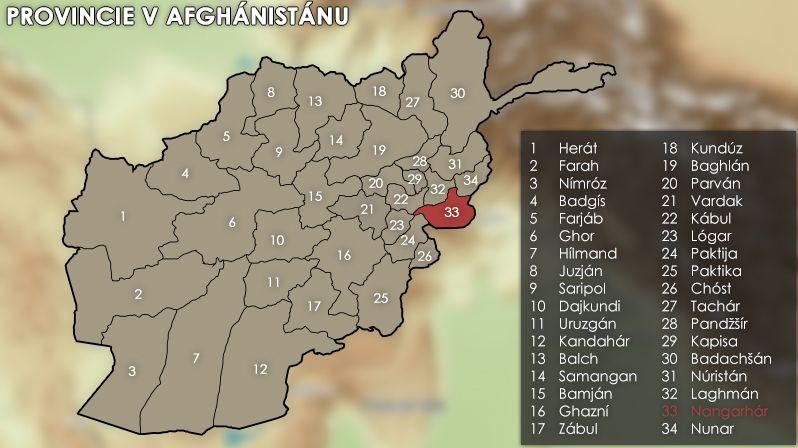 Při náletu zahynulo v piniovém sadu třicet afghánských rolníků