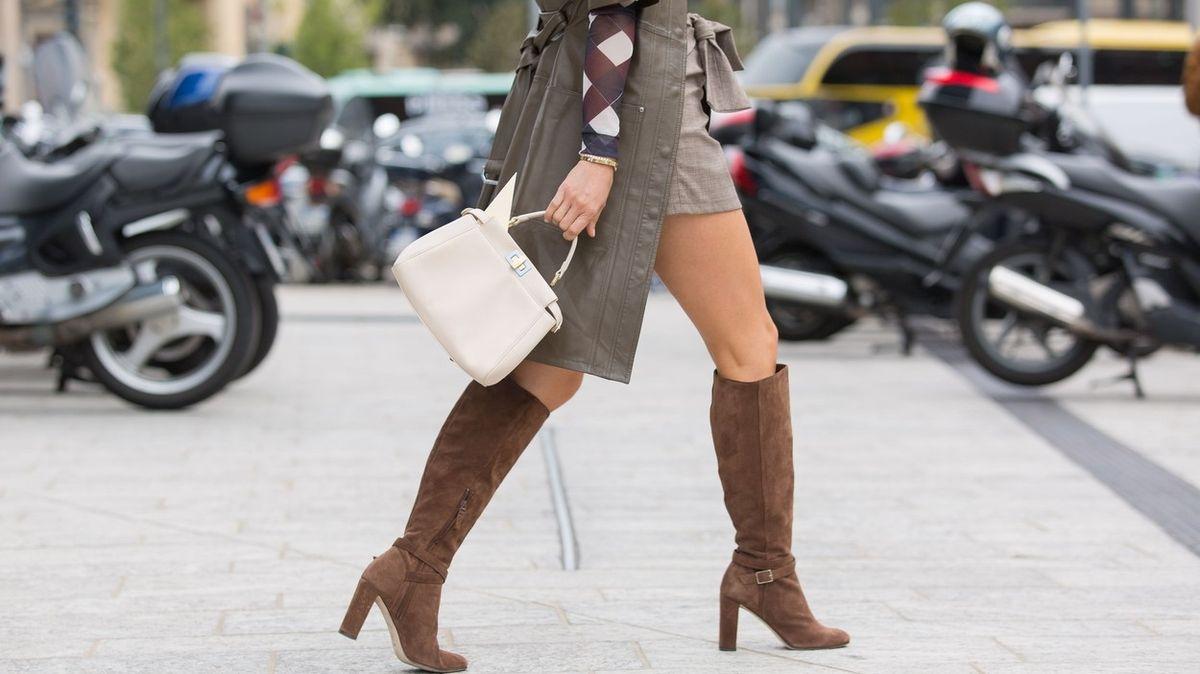 Obujte se do podzimu, pořiďte si trendy kozačky pod kolena