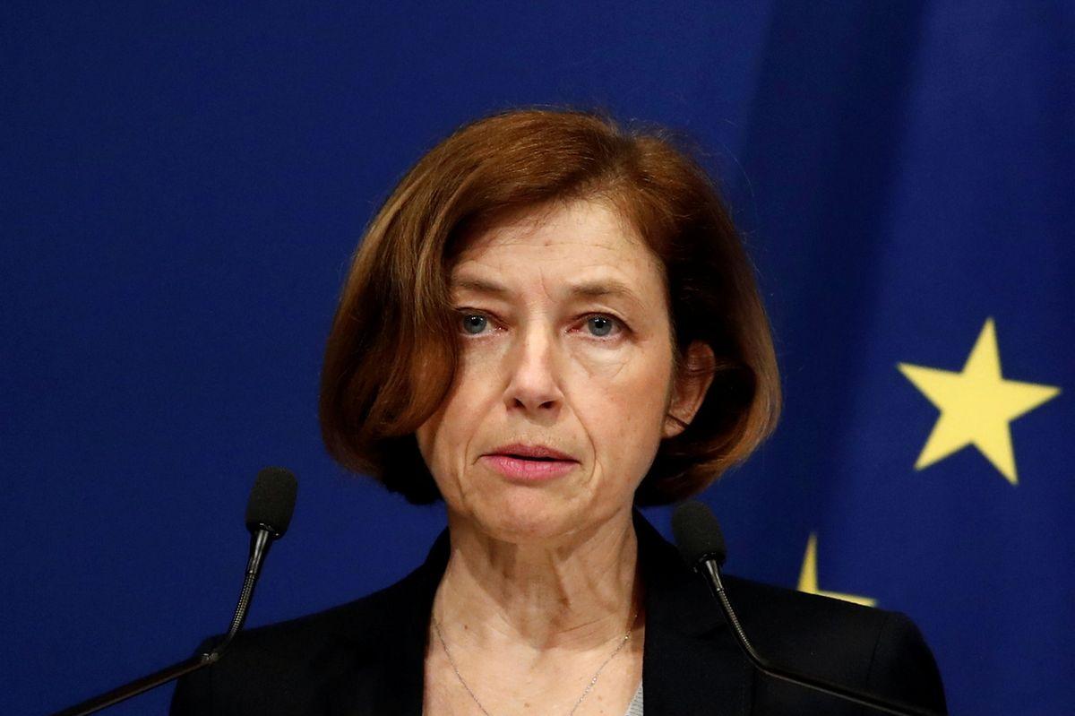 Francouzská ministryně obrany Florence Parlyová