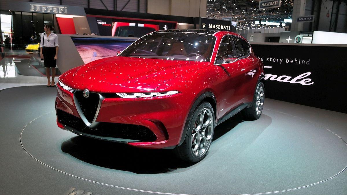 Kompaktní SUV od Alfy Romeo je za rohem. Tonale má přijít na trh v listopadu