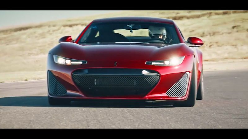 Nová kalifornská automobilka Drako představuje extrémně silný sporťák