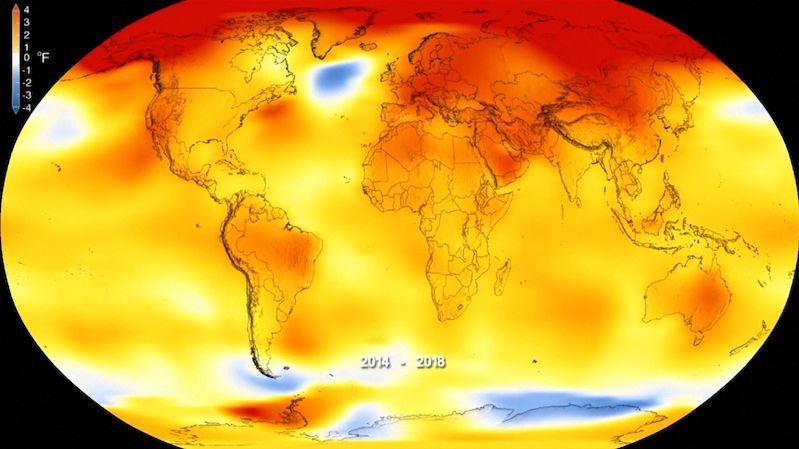 Posledních deset let bylo nejteplejších za 170 let měření