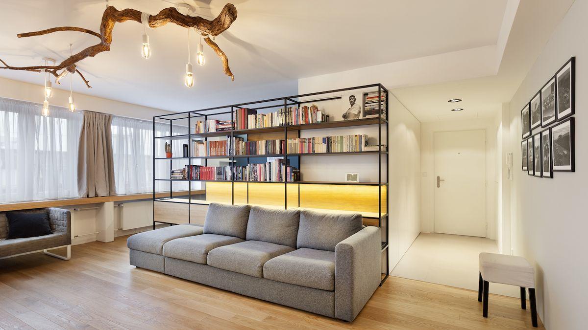 Menší byt po rekonstrukci plně vyhovuje požadavkům mladé rodiny