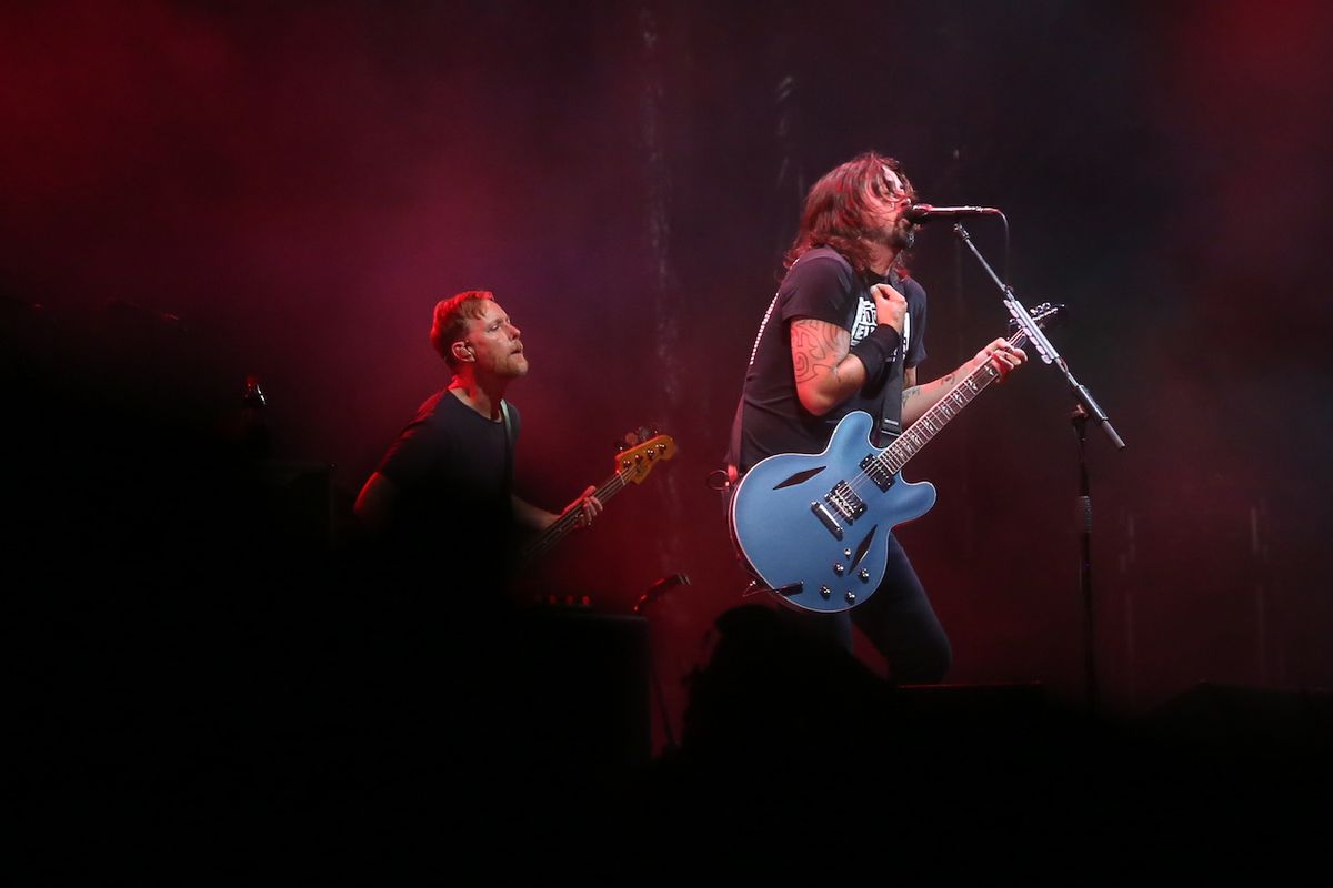 Foo Fighters festival v Budapešti završili.