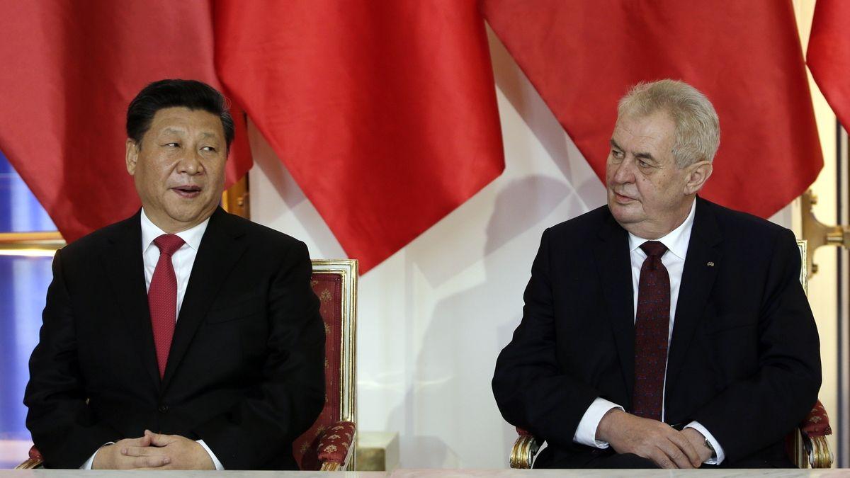 Zeman oznámil, že plánuje příští rok navštívit Čínu