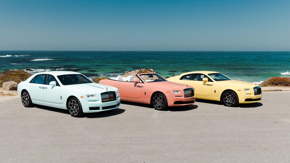 Bez metalízy či perleti: Rolls-Royce ukazuje, že krásné mohou být i pastelové laky