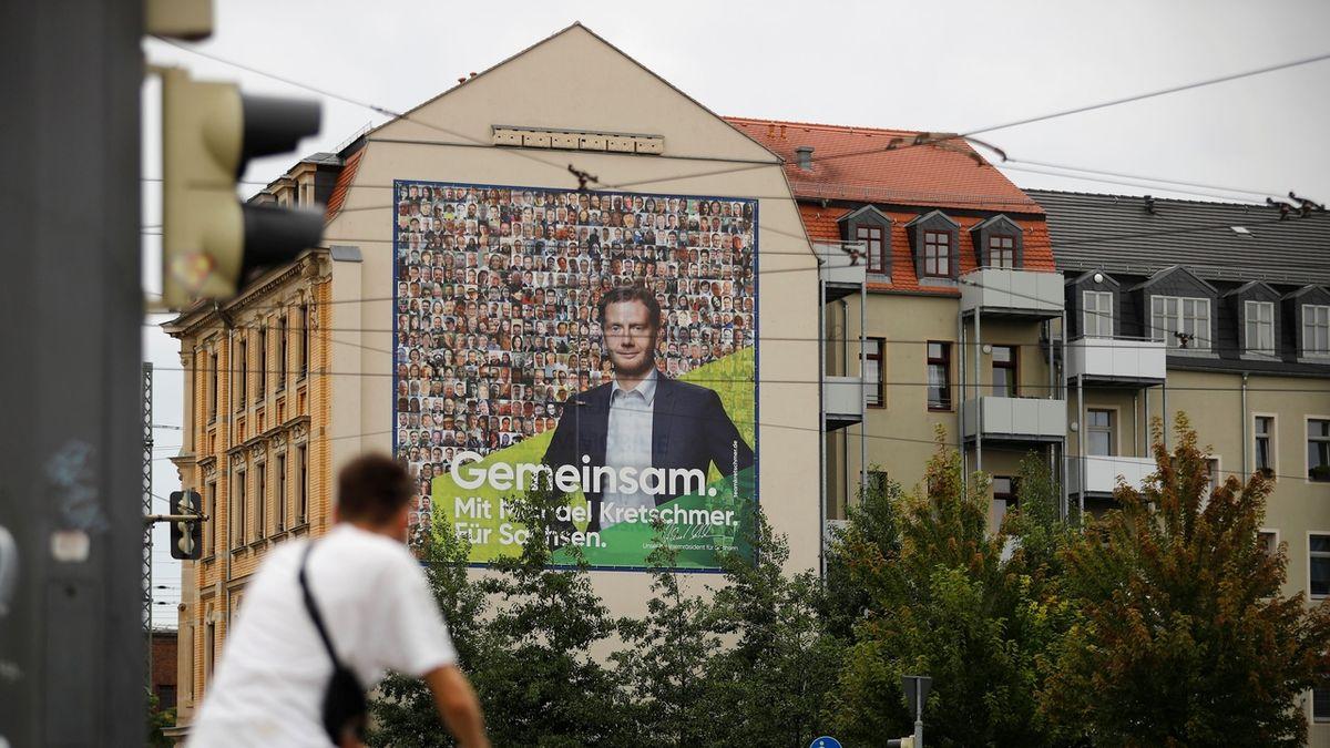 AfD už není jasným favoritem voleb v Sasku a Braniborsku, CDU a SPD posílily