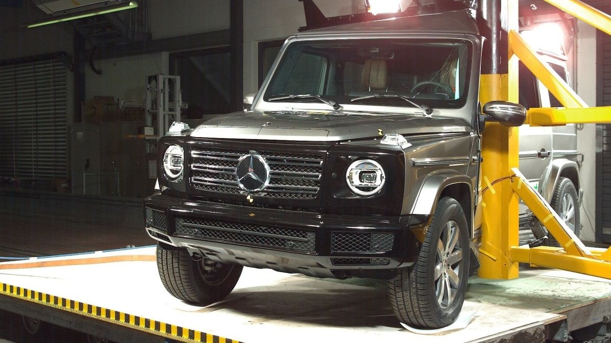 Crash test Mercedes-Benzu G