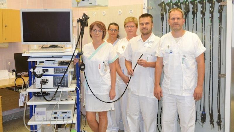 Novinky na gastroenterologii Nemocnice Prostějov zajistí rychlejší akomfortnější průběh vyšetření
