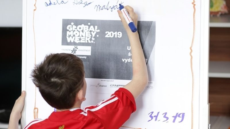 Projektový den v rámci Global Money Weeku v Hodoníně u Kunštátu