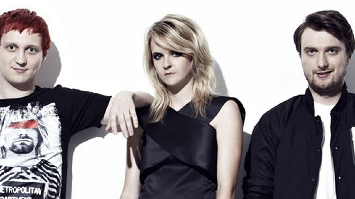 The Subways, zleva Billy Lunn, Charlotte Cooperová a Josh Morgan.