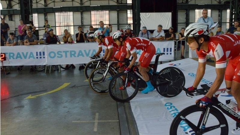 VOstravě se představili cyklisté nejvyšší světové úrovně